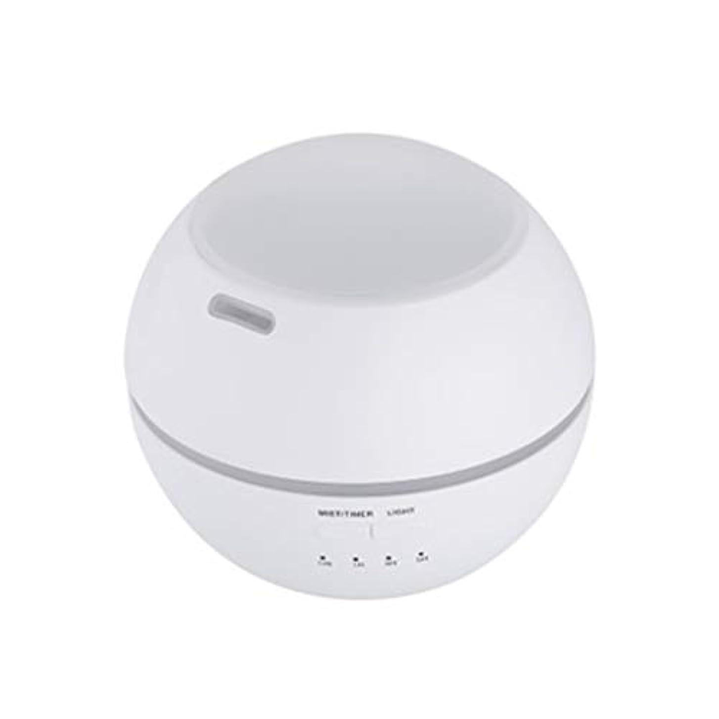 長方形種現代マルチライトマシンクリエイティブ超音波加湿器ランプ家庭用必須ディフューザーギフト (Color : White)