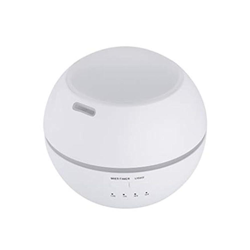 異なるジャム省略マルチライトマシンクリエイティブ超音波加湿器ランプ家庭用必須ディフューザーギフト (Color : White)