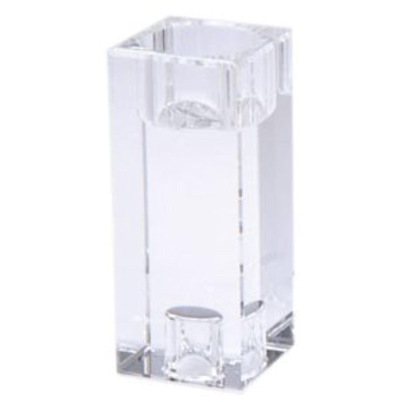 ダイヤモンド心理的に変なキャンドルホルダー クリスタ キューブ L