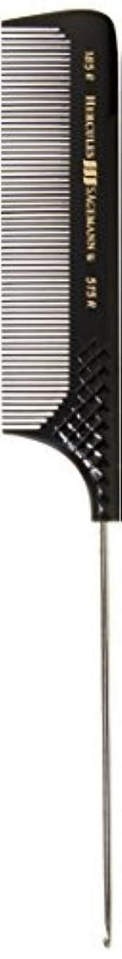 スナップ偏見トレイルHercules S?gemann Pin Tail Comb with Stainless Steel Needle & Hook 9