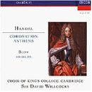Handel/Blow;Coronation Anth
