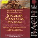 Secular Cantatas Bwv 202-204