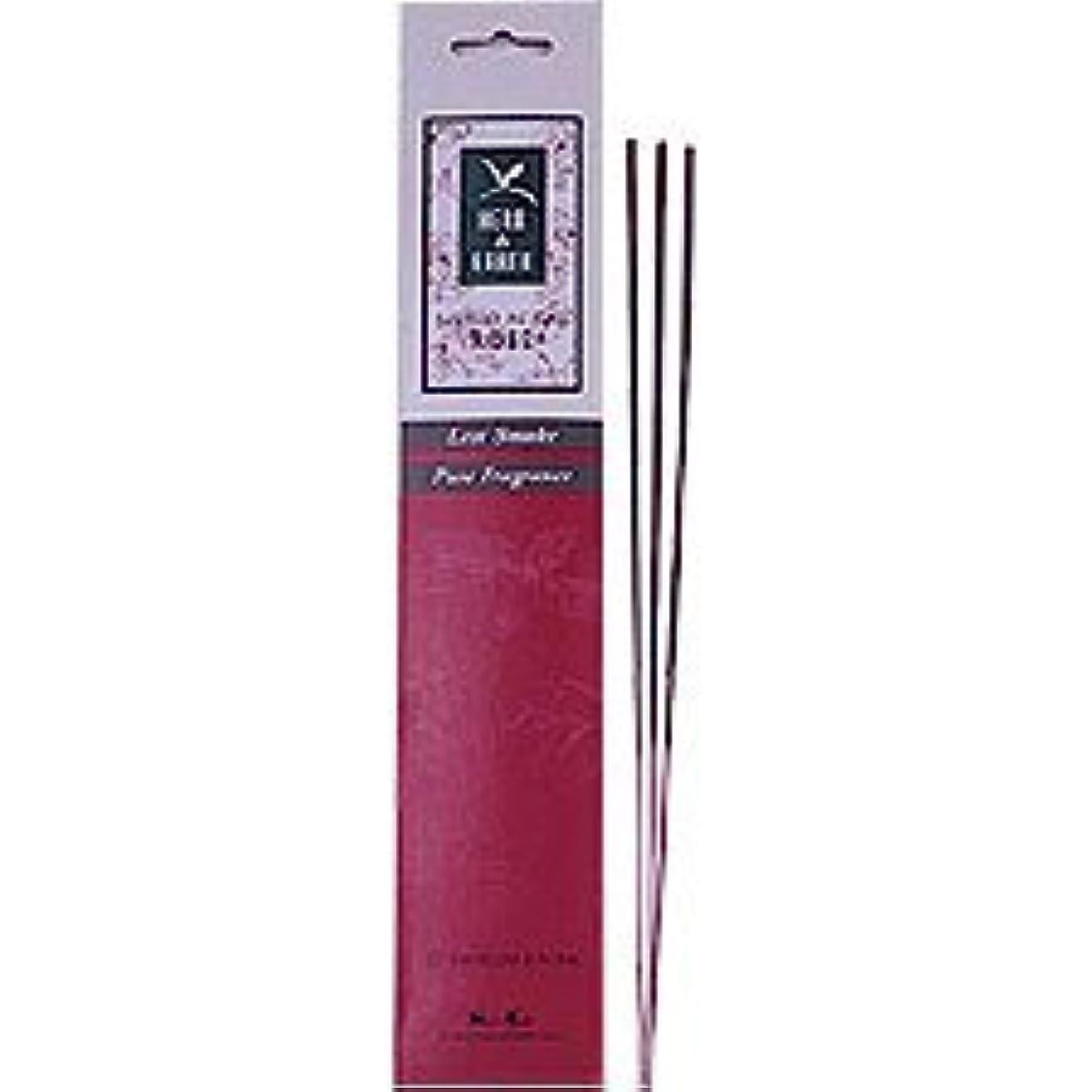 不公平遺棄された退却ローズ – Herb and Earth IncenseからNippon Kodo – 20スティックパッケージ