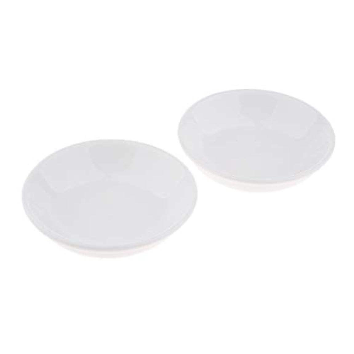 ソーダ水六わずかにオイルウォーマー ディッシュ 取り替え皿 セラミック 置物 2個入