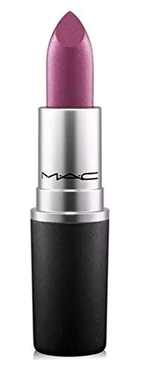 尊敬するミント請求可能マック MAC Lipstick - Plums Odyssey - spiked-up plum (Frost) リップスティック [並行輸入品]