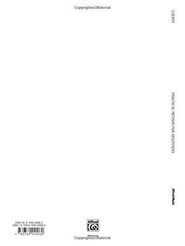 Czerny Practical Method For Beginners Op.599 (Kalmus Edition)