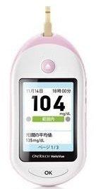 ワンタッチベリオビュー自己検査用グルコース測定器 ピンク 本体