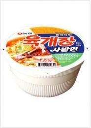 【農心】 ユッケジャンサバル麺(カップ麺) 86g  ■韓国食品■韓国食材■韓国ラーメン■ インスタントラーメン■袋ラーメン■ラーメン ■美味しいラーメン■