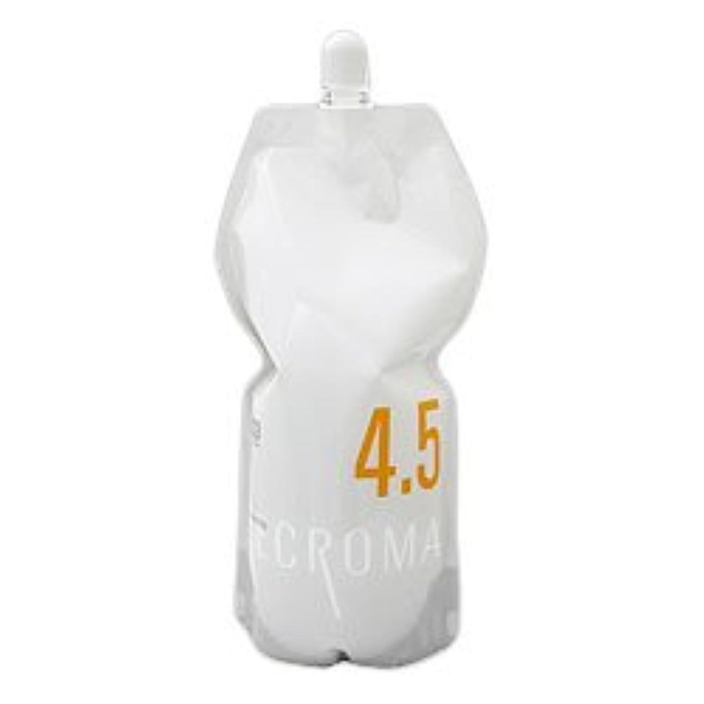 ノベルティ警告信じられないナンバースリー リクロマ オキシ OX 1200ml (レフィル) 4.5% 【ヘアカラー2剤】【業務用】【医薬部外品】
