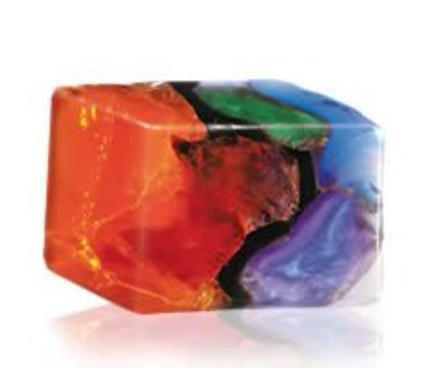 ロック解除論理的火炎Savons Gemme サボンジェム 世界で一番美しい宝石石鹸 フレグランスソープ ファイアオパール 170g【日本総代理店品】