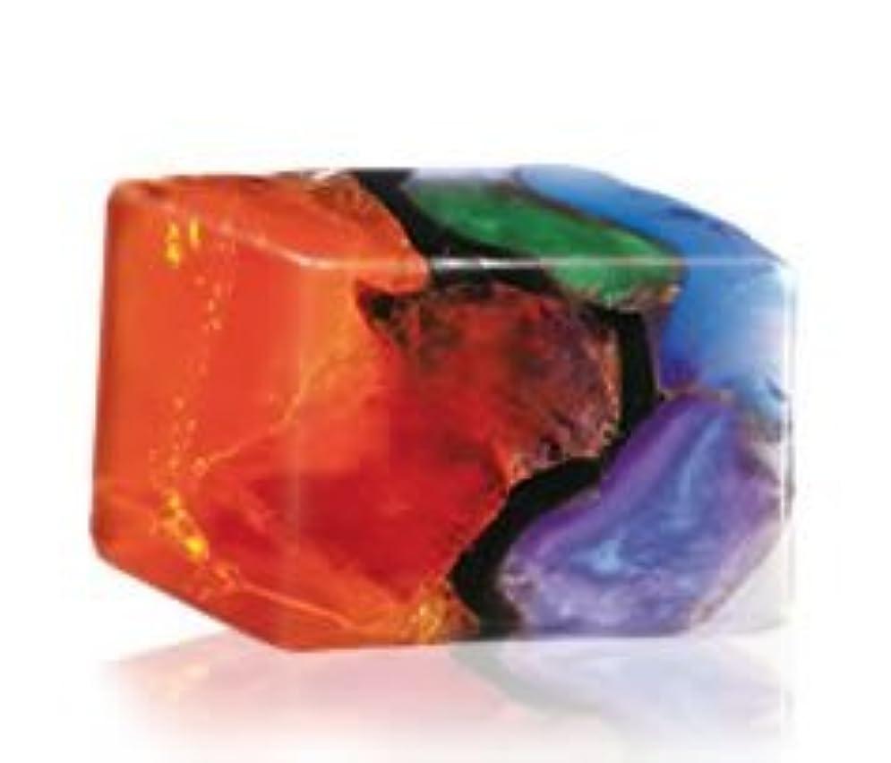 宿題をする陰謀パックSavons Gemme サボンジェム 世界で一番美しい宝石石鹸 フレグランスソープ ファイアオパール 170g【日本総代理店品】