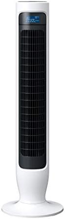 日立 スリム扇風機 タワーファン DCモーター 風量6段階 うちわ風 内部スイング リモコン付き HSF-DS500C