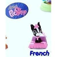 McDonalds Happy Meal Littlest Pet Shop French Bulldog #1 2008 Black/White