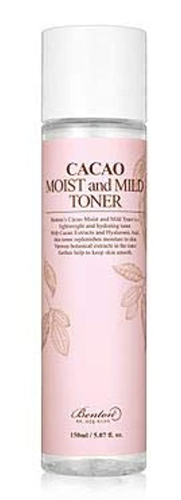 海外結紮寄生虫[Benton] Cacao Moist and Mild Toner 150ml /[ベントン] カカオモイスト & マイルド トナー150ml [並行輸入品]