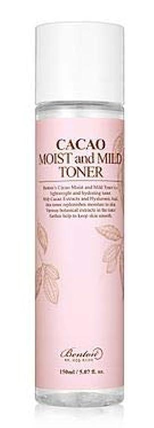 無駄タール家庭[Benton] Cacao Moist and Mild Toner 150ml /[ベントン] カカオモイスト & マイルド トナー150ml [並行輸入品]