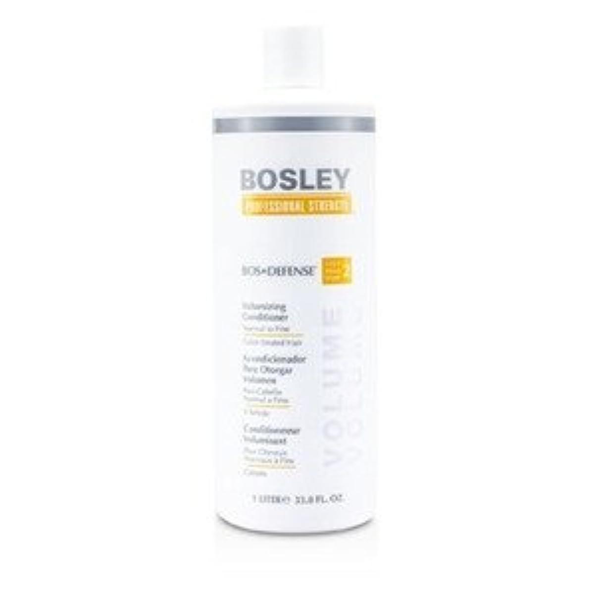 ロードブロッキング池タンパク質ボスリー プロフェッショナル ストレングス ボス ディフェンス ボリューマイジング コンディショナー(普通~細いカラーヘア用) 1000ml/33.8oz [並行輸入品]
