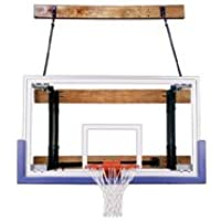 最初チームfoldamount46 Triumph steel-glass Side Folding壁マウントバスケットボールsystem44 ;オレンジ