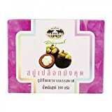 マンゴスチン石鹸 abhaibhubejhr Mangosteen Peel Soap 100g 1個×3箱