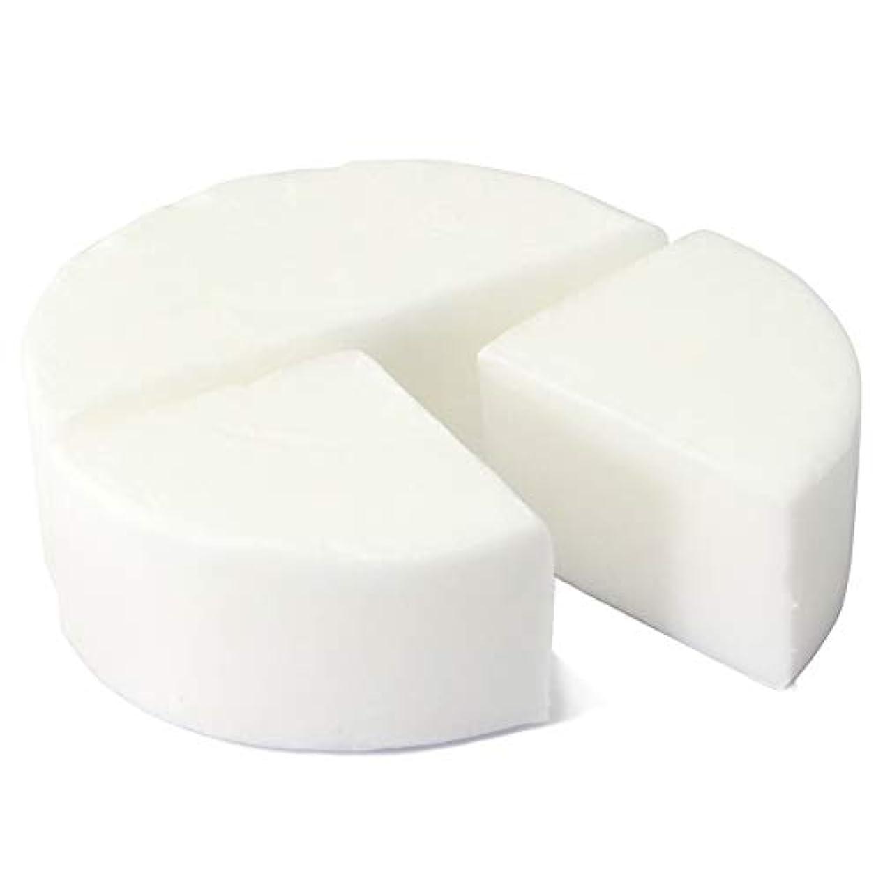 オフェンス柔らかい足免除するグリセリン クリアソープ 色チップ 白 100g (MPソープ)