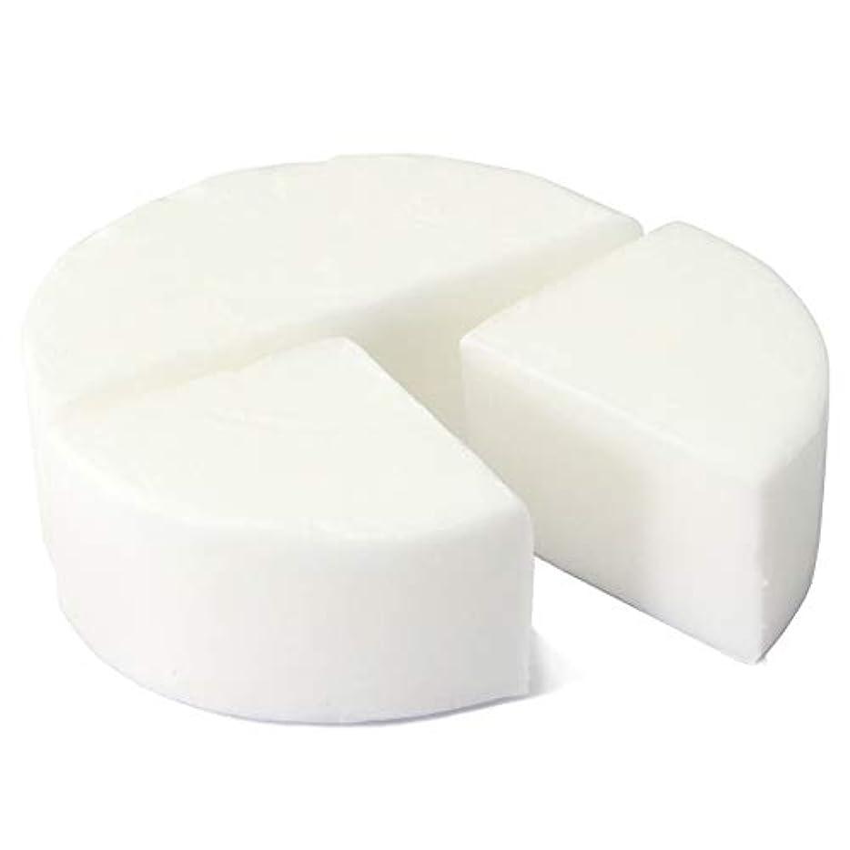 ランチ締め切り体グリセリン クリアソープ 色チップ 白 100g (MPソープ)