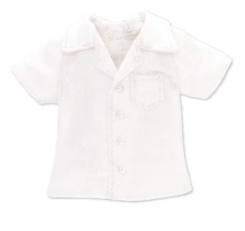 ピコニーモ用 1/12 開襟半袖シャツ ホワイト (ドール用)