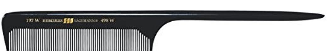 通り抜ける食料品店苦Hercules S?gemann Long Rounded Tail Hair Comb with wide teeth 8?