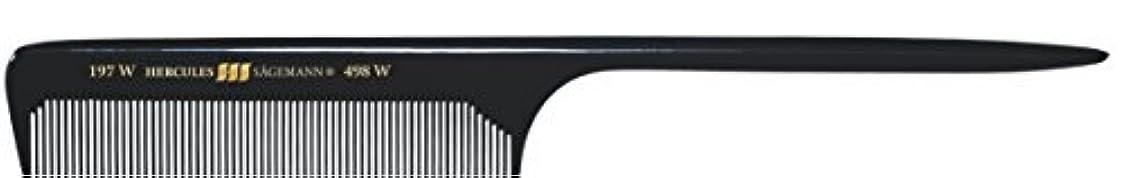 大胆な程度分注するHercules S?gemann Long Rounded Tail Hair Comb with wide teeth 8?