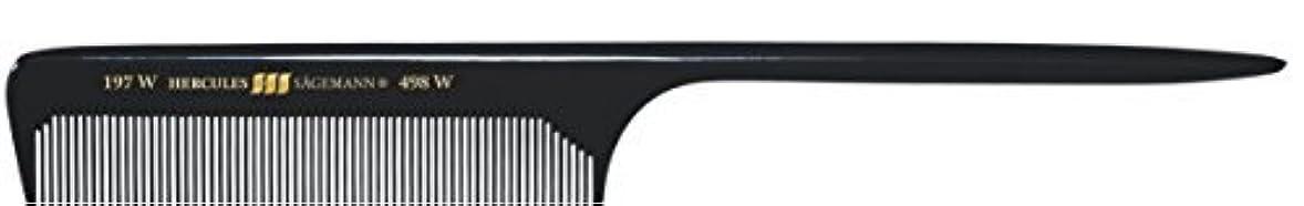 ポンプ指定する感情Hercules S?gemann Long Rounded Tail Hair Comb with wide teeth 8?