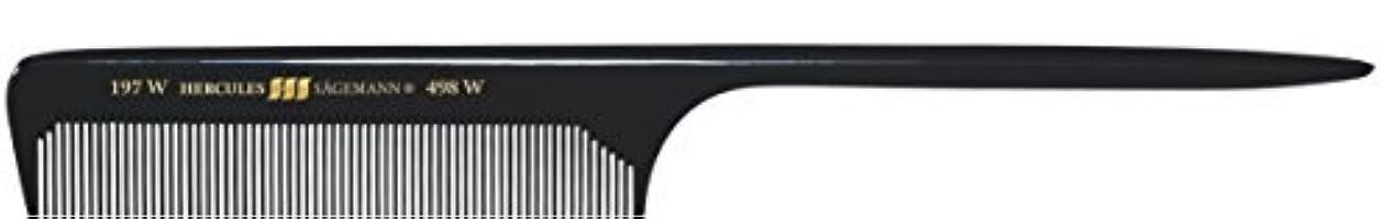 スピーチ征服筋Hercules S?gemann Long Rounded Tail Hair Comb with wide teeth 8?