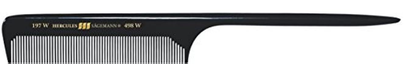 厚い批判する無心Hercules S?gemann Long Rounded Tail Hair Comb with wide teeth 8?