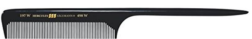 週間広い履歴書Hercules S?gemann Long Rounded Tail Hair Comb with wide teeth 8?