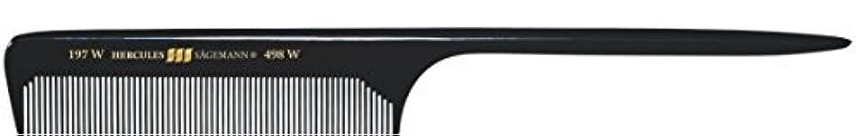 関係抵抗するアンペアHercules S?gemann Long Rounded Tail Hair Comb with wide teeth 8?