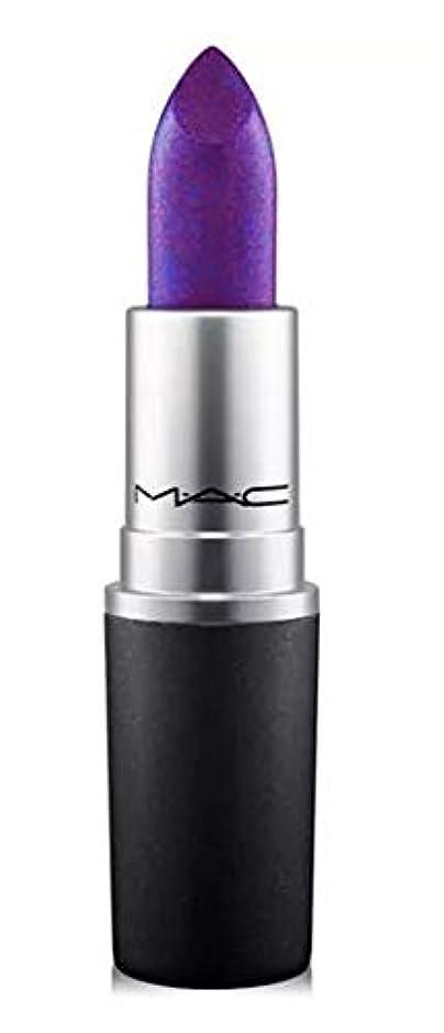 ストレスの多い農民有効化マック MAC Lipstick - Plums Model Behaviour - clean violet with blue pearl (Frost) リップスティック [並行輸入品]