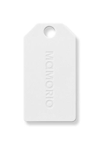 MAMORIO S マモリオ エス White&White 世界最軽・最小・最薄クラスの紛失防止タグ/Bluetooth/