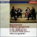 Beethoven:Strings Quartets Vol.2 by Smetana Q (2004-03-24)