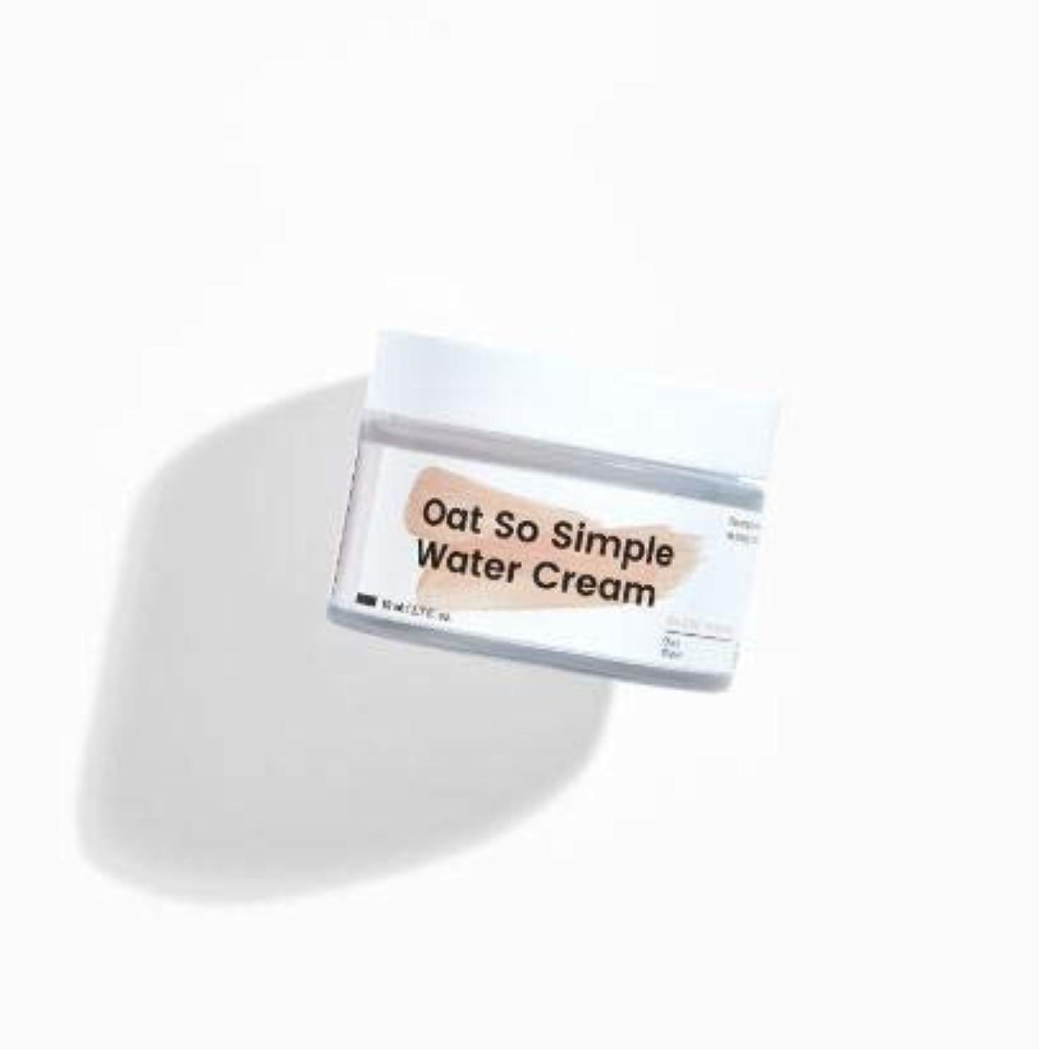 良いアセあご[Krave] Oat So Simple Water Cream 80ml [並行輸入品]