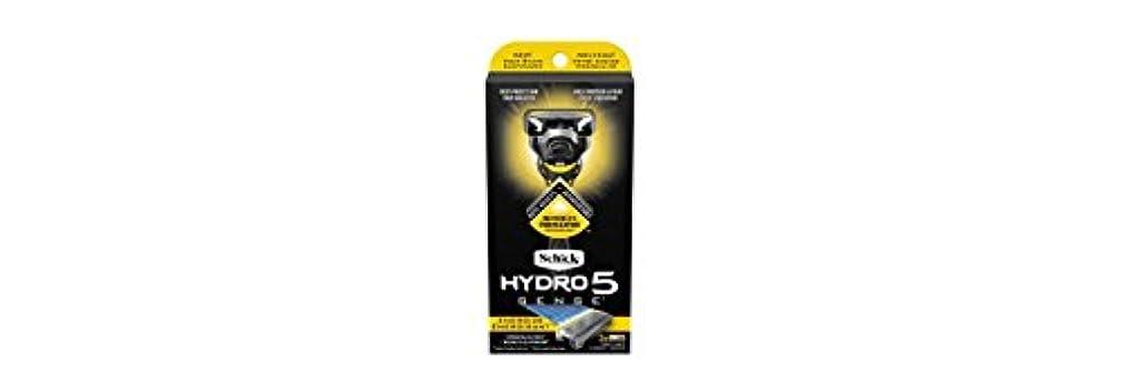 スキニーエコー苦情文句Schick Hydro5 Sense Energize 1 handle + 2 razor blade refills シックハイドロ5 センス?エナジー 本体1個+剃刀刃2個 [並行輸入品]