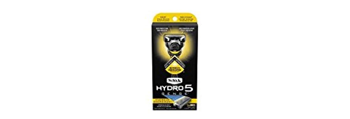 入場溶ける持続するSchick Hydro5 Sense Energize 1 handle + 2 razor blade refills シックハイドロ5 センス?エナジー 本体1個+剃刀刃2個 [並行輸入品]