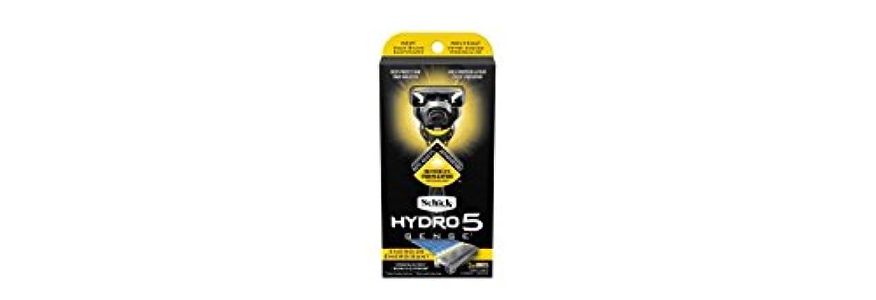 寮換気花火Schick Hydro5 Sense Energize 1 handle + 2 razor blade refills シックハイドロ5 センス?エナジー 本体1個+剃刀刃2個 [並行輸入品]