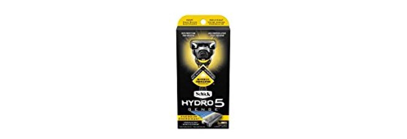 合唱団ピット生Schick Hydro5 Sense Energize 1 handle + 2 razor blade refills シックハイドロ5 センス?エナジー 本体1個+剃刀刃2個 [並行輸入品]