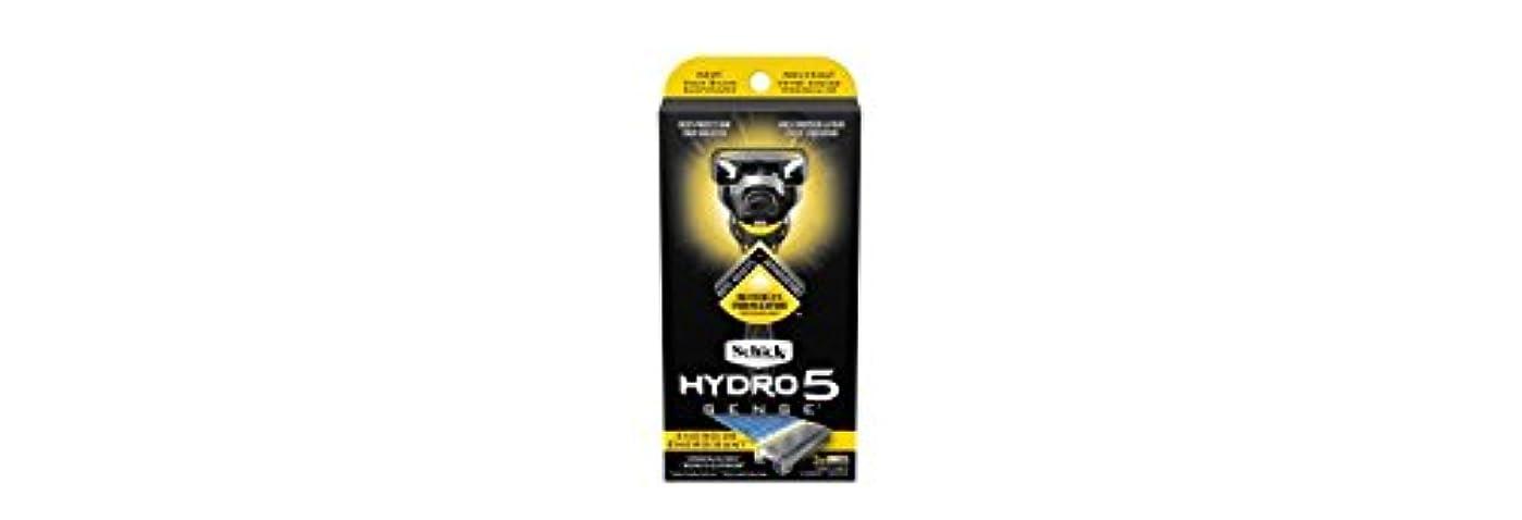 道徳の解くレビューSchick Hydro5 Sense Energize 1 handle + 2 razor blade refills シックハイドロ5 センス?エナジー 本体1個+剃刀刃2個 [並行輸入品]