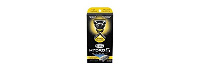 裁量ストライクハーフSchick Hydro5 Sense Energize 1 handle + 2 razor blade refills シックハイドロ5 センス?エナジー 本体1個+剃刀刃2個 [並行輸入品]