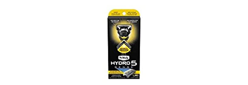 エラーミンチ悲しいことにSchick Hydro5 Sense Energize 1 handle + 2 razor blade refills シックハイドロ5 センス?エナジー 本体1個+剃刀刃2個 [並行輸入品]