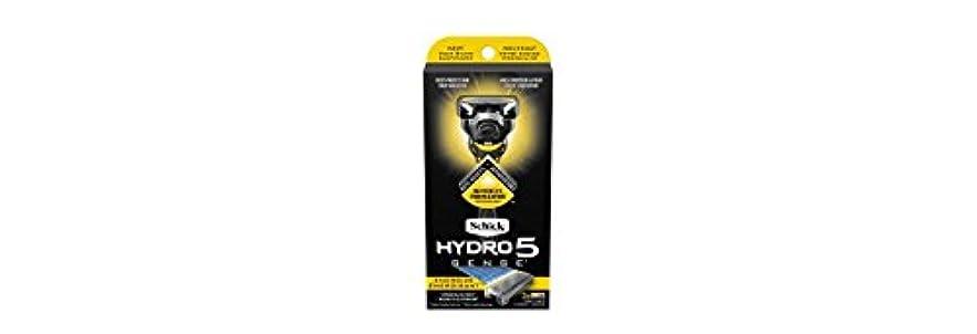 明示的に心から闇Schick Hydro5 Sense Energize 1 handle + 2 razor blade refills シックハイドロ5 センス?エナジー 本体1個+剃刀刃2個 [並行輸入品]
