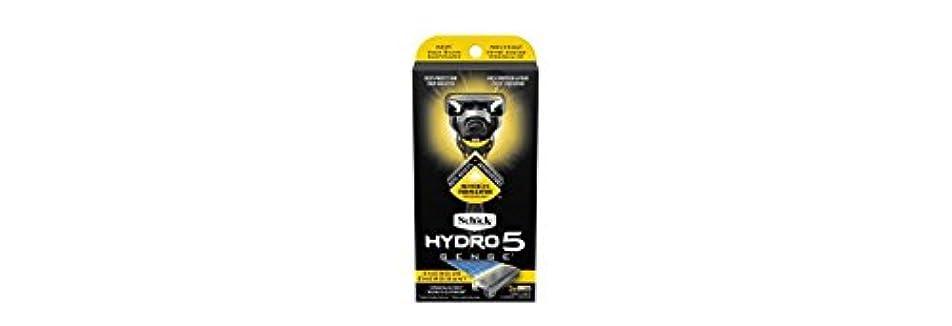 ピルファー取るに足らないではごきげんようSchick Hydro5 Sense Energize 1 handle + 2 razor blade refills シックハイドロ5 センス?エナジー 本体1個+剃刀刃2個 [並行輸入品]