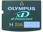 SanDisk XD picture card 2GB TypeH SDXDH-2048-J60