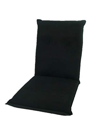 14段階リクライニング ハイバック座椅子 ブラック lh-7011 bk