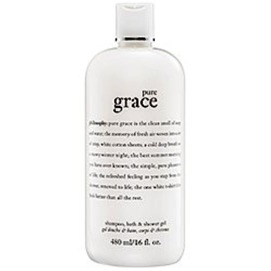 pure grace (ピュアグレイス ) 16.0 oz (480ml) foaming bath and shower gel for Women