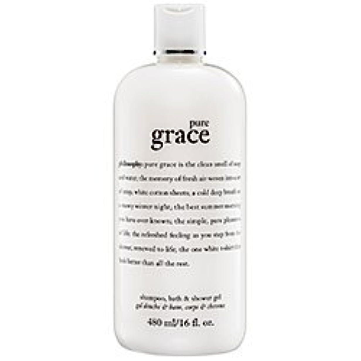 版目立つに話すpure grace (ピュアグレイス ) 16.0 oz (480ml) foaming bath and shower gel for Women
