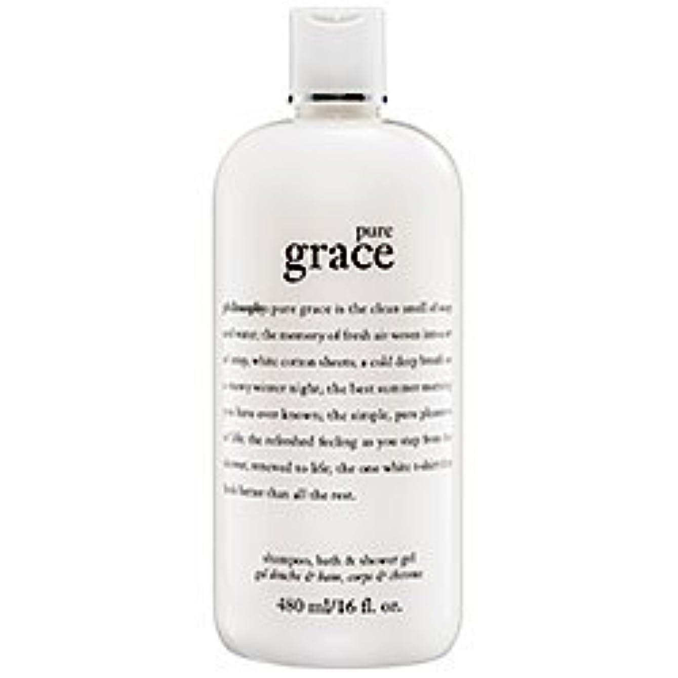 社交的ミリメートルボトルネックpure grace (ピュアグレイス ) 16.0 oz (480ml) foaming bath and shower gel for Women